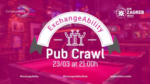 ExchangeAbility Pub Crawl with ESN Zagreb