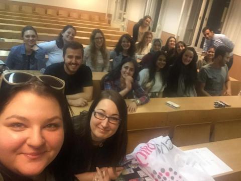 ASL group with the teachers