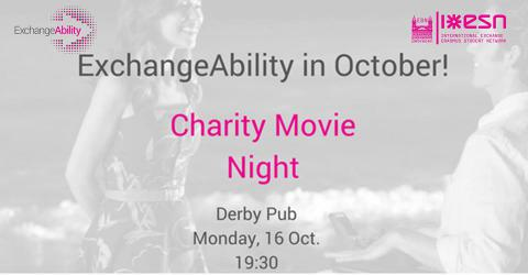 ExchangeAbility in October!  Charity Movie Night