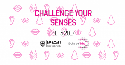 Challenge your senses facebook event cover