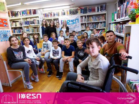 ESN Zadar: Sign language workshop