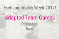 Adapted Team Games
